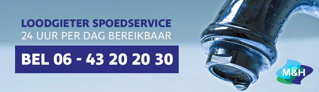 Loodgieter - Rotterdam - Spoedservice - lekkage - verstopping - 24 uur per dag bereikbaar